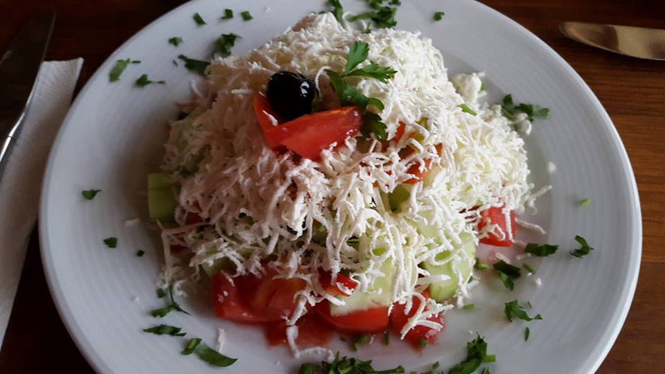 Bulgaria Cycling Tour, Shopska salad